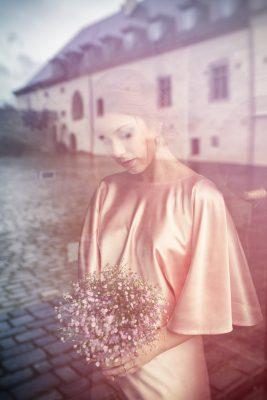 svadobný portrét nevesta zámok Vígľaš foto Martin Almáši