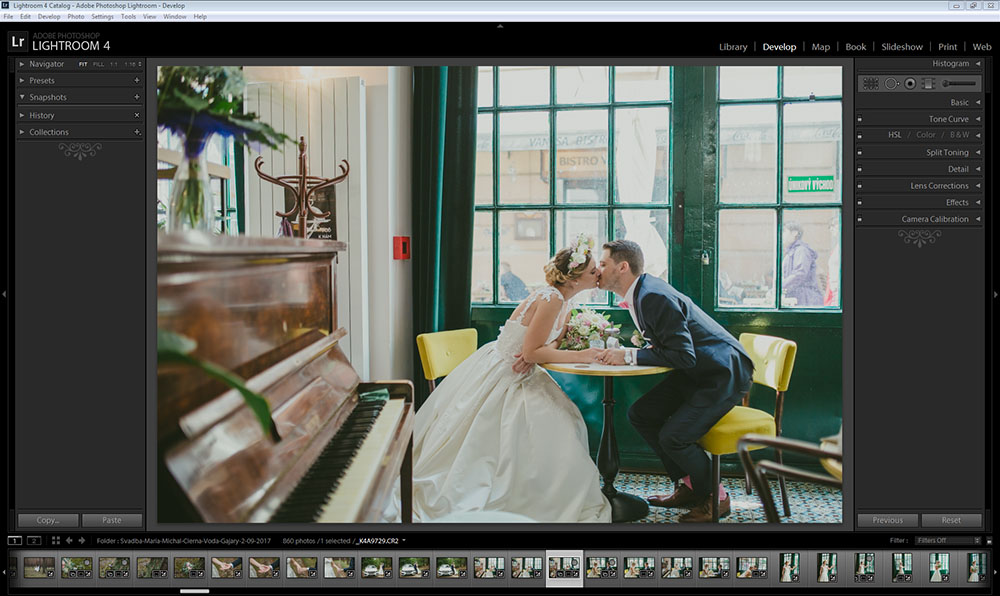 foto adobe lightroom svadba po uprave