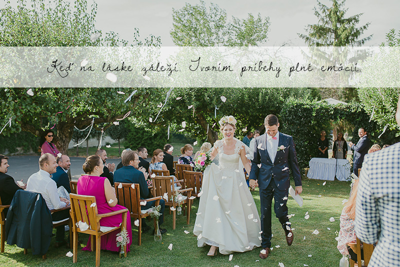 nevesta a ženích po obrade svadobný príbeh plný emócií fotograf Martin Almáši