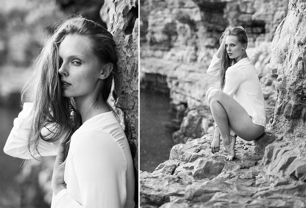 Mola di Bari Taliansko fashion modelka Grétka foto Martin Almáši
