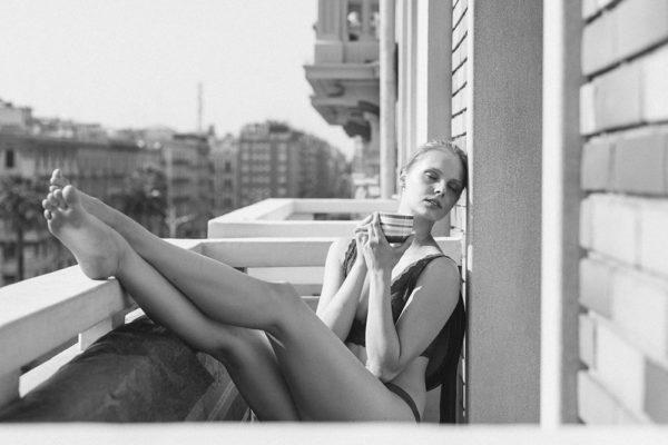 Morning caffe in Bari balcony. Italia. Martin Almasi fotograf