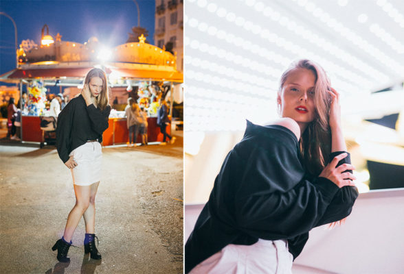 Night fashion in Bari with Gretka. Nočné fashion fotenie v Bari s Grétkou. Martin Almasi photography