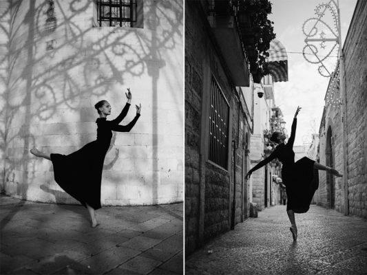 Gretka dancing in streets Bari in Italia. Grétka tancuje v uličkách Bari v Taliansku. photo Martin Almáši Photographer