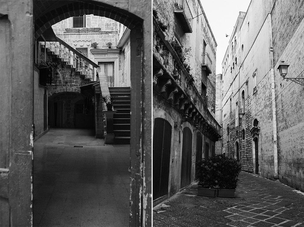 Staré uličky v Bari, Taliansko. Old town streets in Bari, Italia. Martin Almáši fotograf