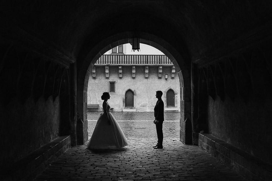 fineart svadobná fotografia na zámku Zvolen