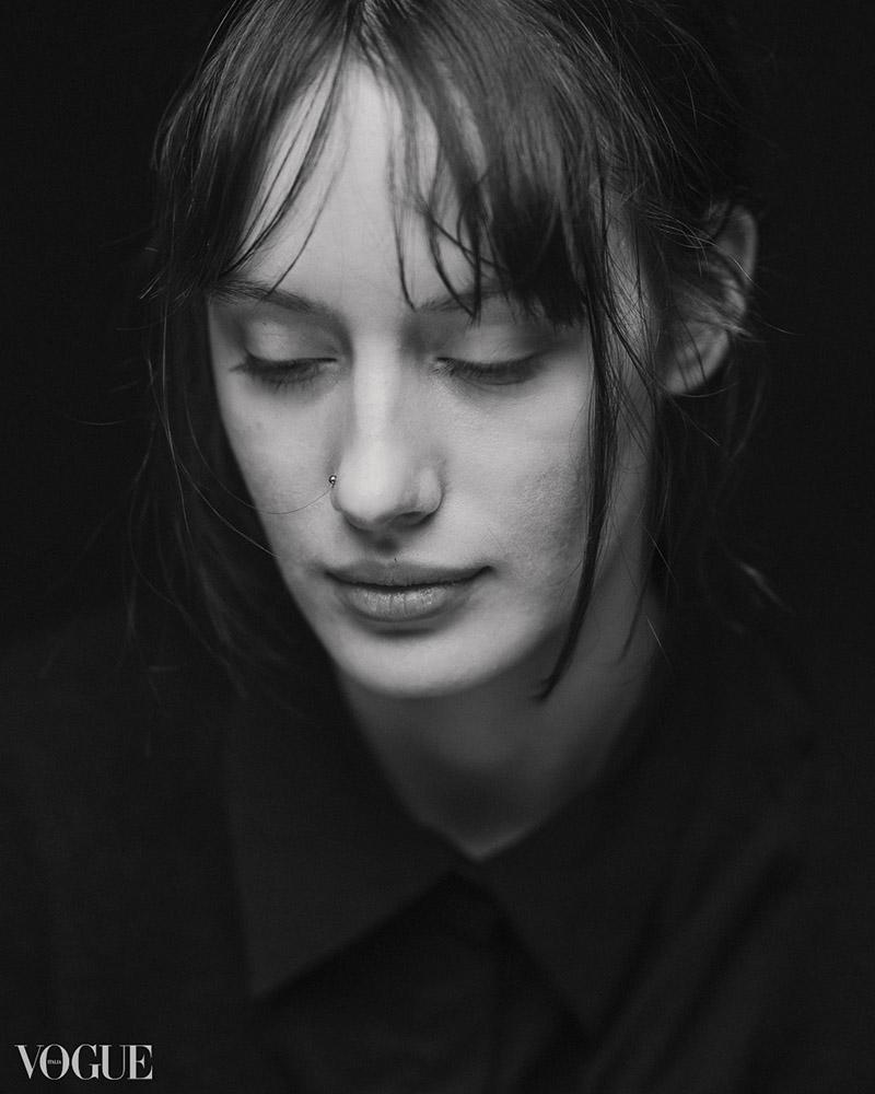 Anja Portrait Vogue Italia