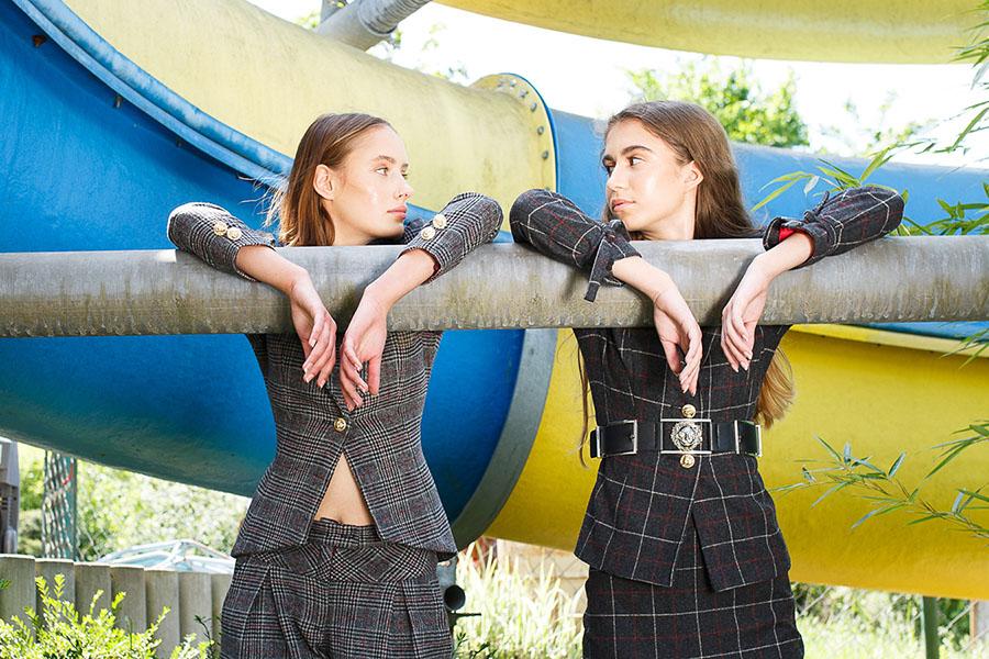 fashion editorial, šaty módna návrhárka Viera Futáková, fotografie Martin Almáši