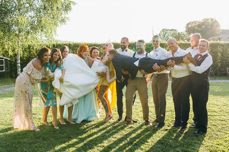 skupinové fotenie svadba zvolen